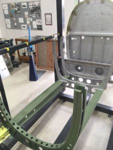 Static Fuselage Structure - Parnall Aircraft Company