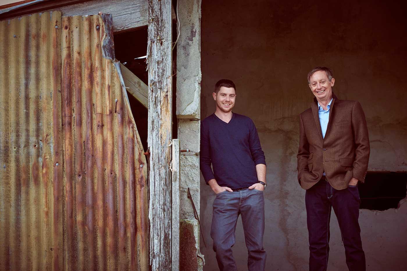 Adam and Mark Parnall